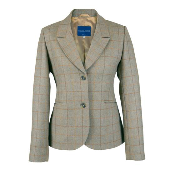 William Powell Ladies Tweed Beaver Jacket